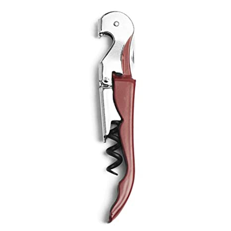 True Fabrications 2228 TF Doubled Hinged Corkscrew, White