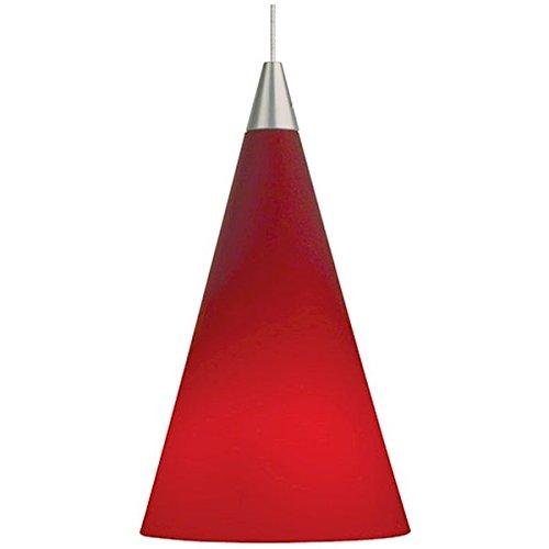 Suspensions Mini Pendant Holder - Cone Mini-Pendant, Chrome - 700MO2CONPC Ceiling Lamp Vintage Industrial Hanging Shade Cage Metal CHOOSEandBUIY