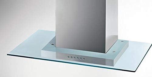 campana extractora para cocina aspirante A Pared 60 x 50 cm inoxidable/Cristal – 157036 cuadrada: Amazon.es: Grandes electrodomésticos