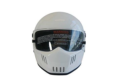 CRG Sports ATV-6 Motocross Motorcycle Scooter Full-Face Fiberglass Helmet