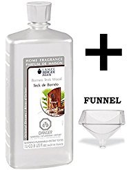 Lampe Berger Fragrance Oil - Borneo Teak Wood - 33.8 Ounce with FREE Funnel