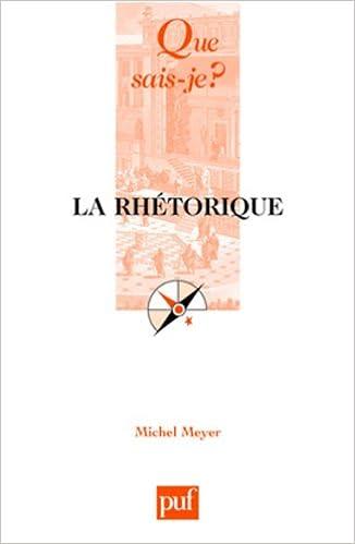 Livres La rhétorique pdf, epub ebook