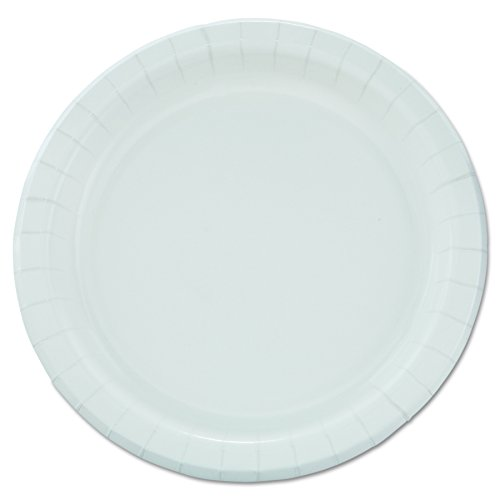 "SOLO Cup Company  MP9B Bare Eco-Forward Clay-Coated Paper Dinnerware, Plate, 8 1/2"" dia (Case of 500)"