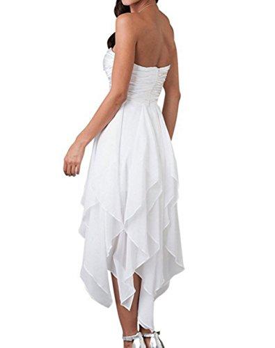 Vickyben - Vestido - trapecio - Sin mangas - para mujer azul marino