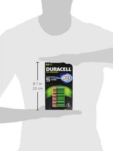 Buy duracell nimh aaa rechargeable batteries