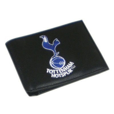 Tottenham Embroidered Leather Wallet by Football Souvenirs