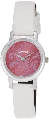 Sonata Analog Pink Dial Women's Watch NM8976SL03W/NN8976SL03W