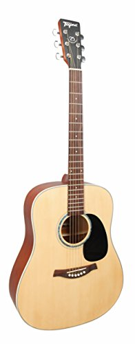 Acoustic Guitar TW-25 FOLK - WOODSTOCK Acoustic Series Natural Satin color by Tagima (Natural Satin)