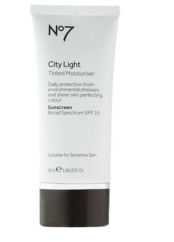 No7 City Light Tinted Moisturizer, Fair 1.68 oz. (1 pack)