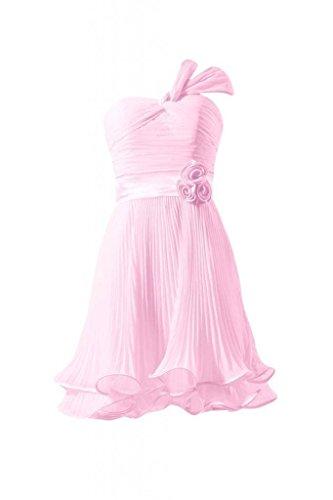 Morden Damigella Partito 20 ghiaccio Rosa Corto Da Chiffon D'onore bm334re Vestito Dell'annata Abito Daisyformals 7E80qU