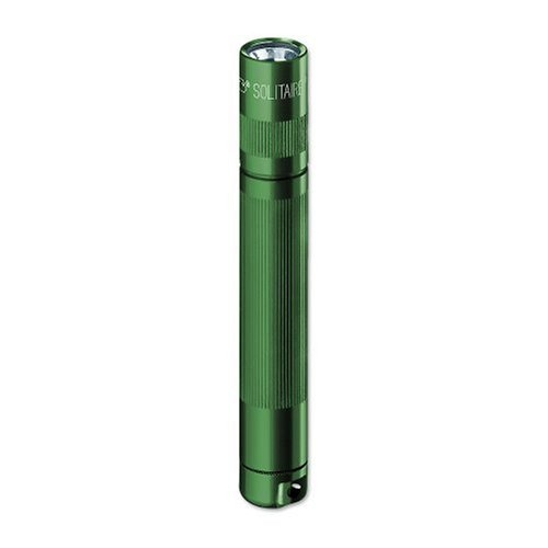 Maglite Green Flashlight - MagLite Solitaire AAA Incandescent. Flashlight Green K3A396 Blister