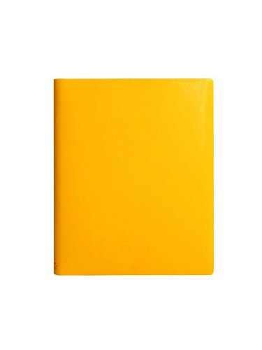 paperthinks-yellow-gold-extra-large-ruled-recycled-leather-notebook-7-x-9-inches