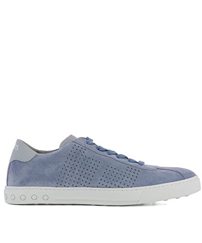 official site for sale sale free shipping Tod's Men's XXM0XY0X990EYD3RD3 Light Blue Suede Sneakers discount high quality 8qsIPwhBDJ