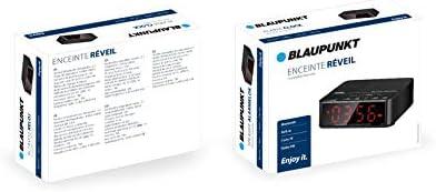 Blaupunkt BLP2100.001, Despertador Compatible con Bluetooth 2.1 ...