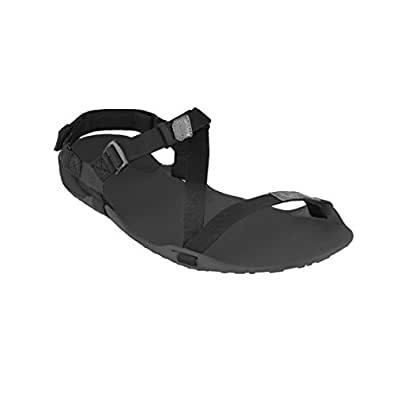 Xero Shoes Barefoot-inspired Sport Sandals - Z-Trek - Women - Coal Black/Black - 8 M US