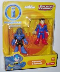 Imaginext, DC Comics Justice League, Superman and Darkseid Figures, 3 Inches
