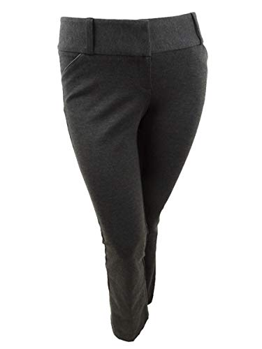 Alfani Womens Straight-Leg Slit Pocket Trouser Pants