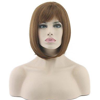 Ryu @ Disfraz Peluca pelucas para mujeres marrón Disfraz pelucas cosplay pelucas