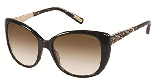 Guess By Marciano Women's GM722 GM/722 TO-34 Tortoise Cat Eye Sunglasses ()