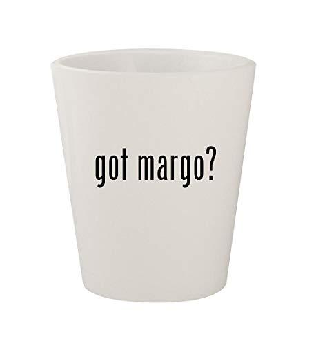 got margo? - Ceramic White 1.5oz Shot Glass