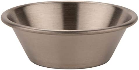 Pack of 1 G.E.T Enterprises Stainless Steel Sauce Cup Stainless Steel Ramekins Collection 4-84100