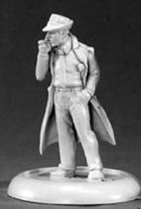 Reaper Miniatures 50051 Chrono Max Decker, Private Eye by Reaper