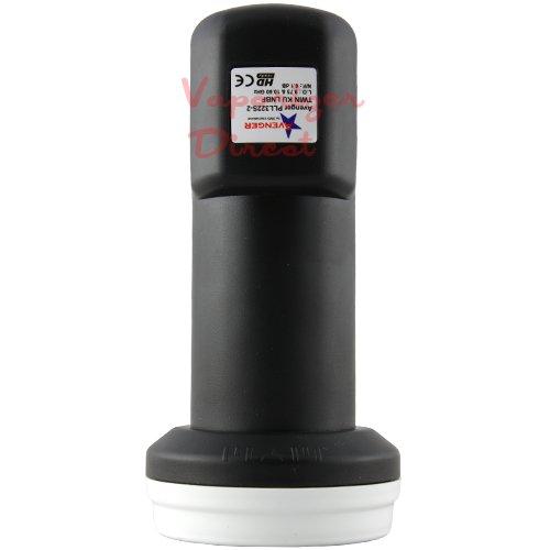 Avenger Universal Ku Band Dual LNBF PLL322S-2 9750 0.1dB Noise