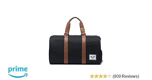8af4f1cbebf Amazon.com   Herschel Novel Duffel Bag-Black   Travel Duffels