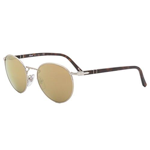 Persol Mens Sunglasses (PO2388) Gold/Gold Metal - Non-Polarized - - Persol Round Glasses
