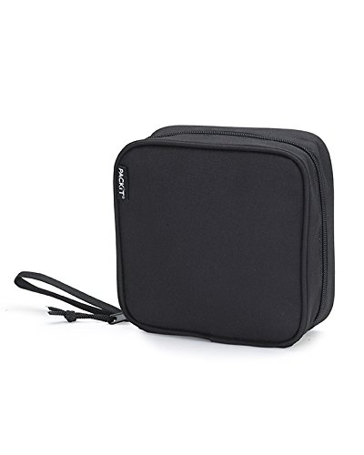 packit-freezable-sandwich-cooler-bag-with-zip-closure-black