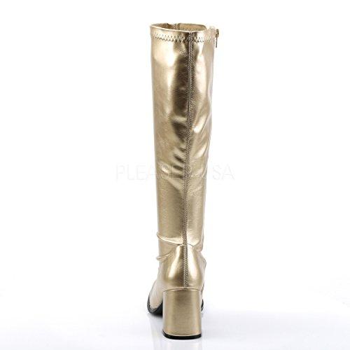 Funtasma 39 GOGO matt 300 Gr Stiefel Pleaser Gold wnZawW7vqT