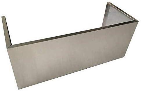 Nxr 36 Stainless Steel Chimney Extension For Ph3651 Rh3601 Range Hood Home Improvement