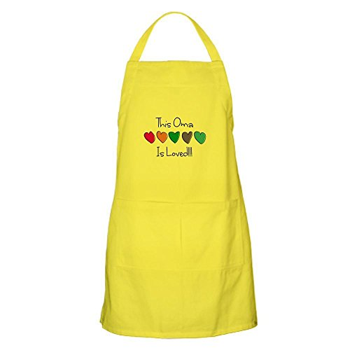 CafePress - Oma Apron - 100% Cotton Kitchen Apron with Pockets, Perfect Grilling Apron or Baking Apron