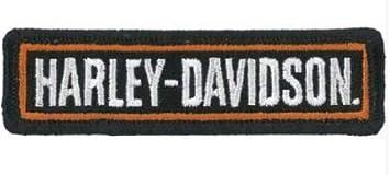 Marel Patch Harley Davidson Aufnäher Aufbügler Stickerei 9 X 2 5 Replica 1302 Küche Haushalt