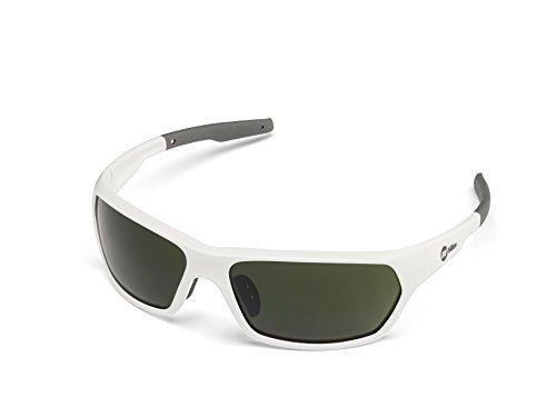 Miller 272209 Slag Safety Glasses Shade 5 Lens/White - Glasses Shade 5