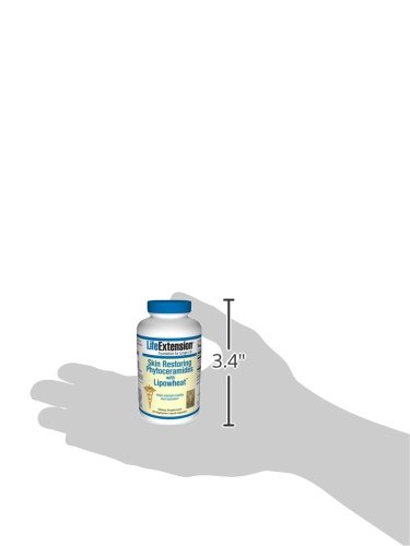 Life Extension Skin Restoring Ceramides w/ Lipowheat, 30 liquid capsules