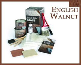 Walnut English (Therma Tru English Walnut Same-Day TM Stain Finishing Kit by Therma Tru)