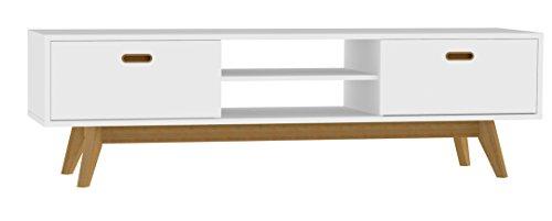 Tv bank retro  Tenzo 2162-001 Bess Designer TV-Bank, lackiert, Matt, 50 x 170 x ...