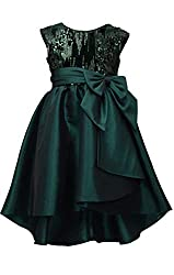 Sequin Taffeta Party Dress