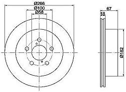 TEXTAR 92142100 Bremsscheibe Set of 2