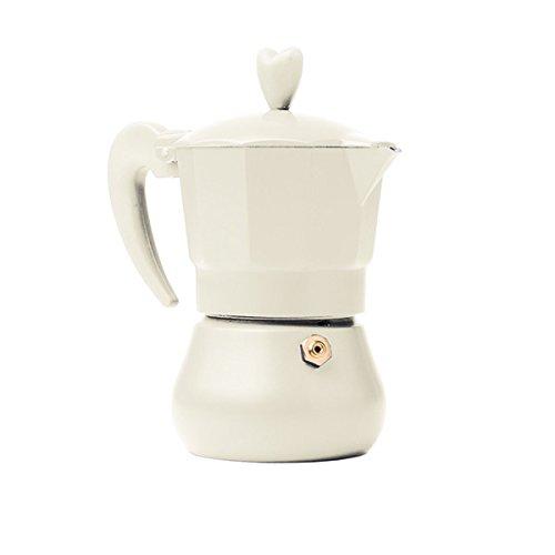 Brandani 54849Lovexpress 1tazza avorio in alluminio per il caffè, multicolore Brandani Gift Group S.a.s Brandani_54849