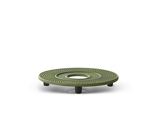 Bredemeijer Cast Iron Coaster Jing, Green