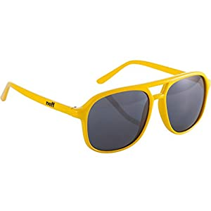 Neff Unisex Magnum Sunglasses, Yellow, One Size Fits All