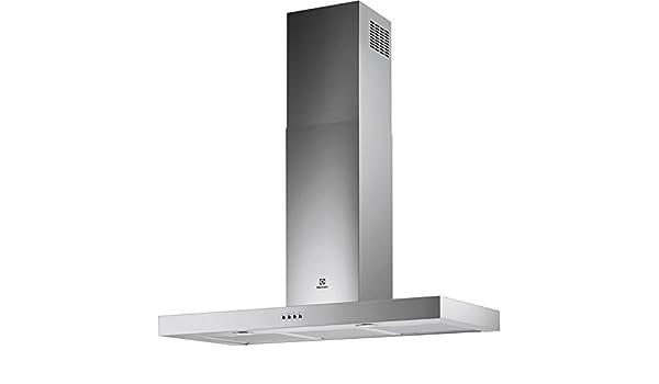 Electrolux EFC90462OX 625 m³/h De pared Acero inoxidable C - Campana (625 m³/h, Canalizado/Recirculación, B, E, B, 67 dB): Amazon.es: Hogar