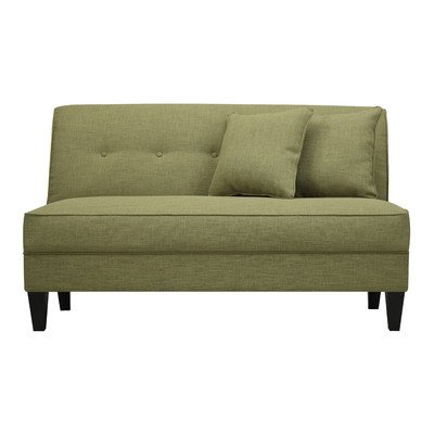 Handy Living Bayonet Loveseat Color: Apple Linen For Sale