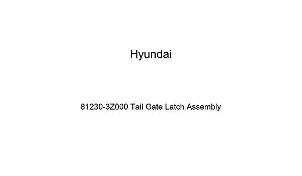 KIA LATCH-TRUNK LID 812303R000 Genuine Hyundai