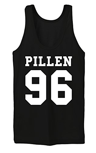 Pillen 96 Tanktop Girls Noir