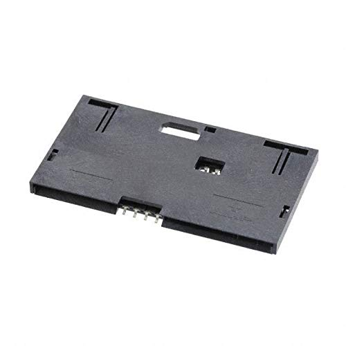 SMT CARD RCPT,8 POS, W/COVER (Pack of 10) (5145300-3)