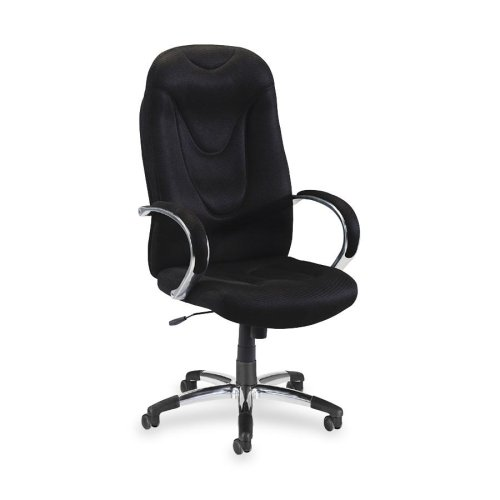 (Wholesale CASE of 2 - Lorell Airseat Series Exec. High-Back Fabric Chair-Executive Hi-Back Chair,30-1/2