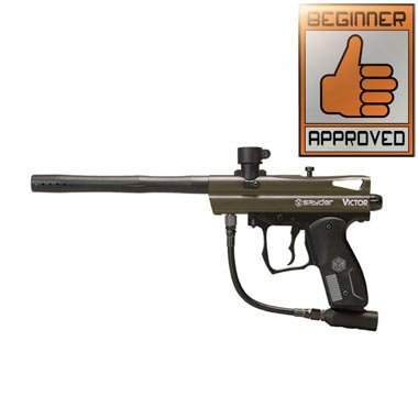 2012 Spyder Victor Paintball Gun - Olive Green by Kingman